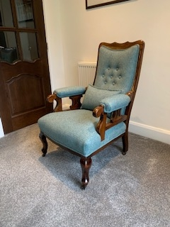 Reupholstery - after